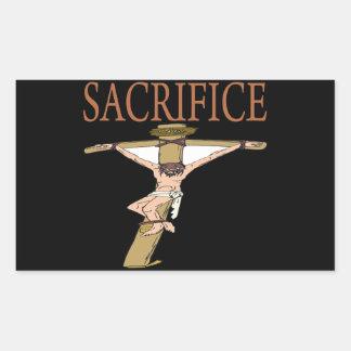 Sacrifice Rectangular Sticker