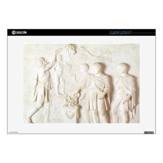 Sacrifice to Hercules, c.1766 (marble) Laptop Skins