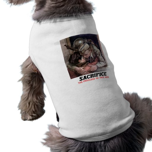 Sacrifice -- World War II Dog Clothes
