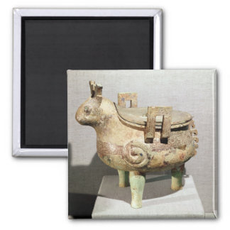 Sacrificial hsi-ting animal figure refrigerator magnets