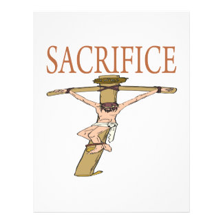 Sacrificio Flyer Personalizado