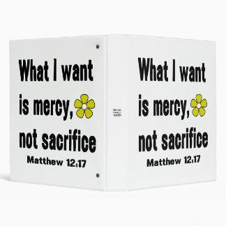 Sacrificio negro de la misericordia no
