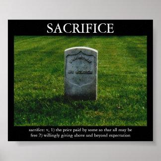 Sacrificio Posters