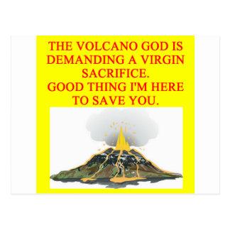 sacrificio virginal tarjetas postales