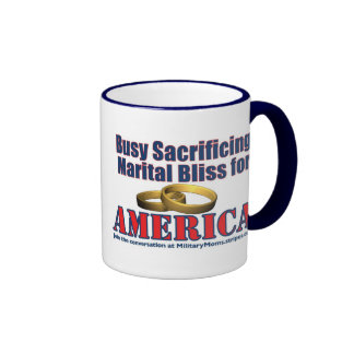 Sacrifing Marital Bliss Mug