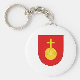 Sacro Imperio Romano del escudo del brazo de la ca Llaveros Personalizados