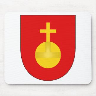 Sacro Imperio Romano del escudo del brazo de la ca Tapete De Ratones
