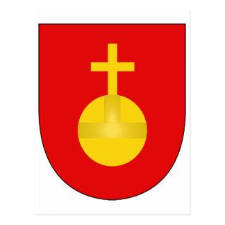 Sacro Imperio Romano del escudo del brazo de la ca Postales