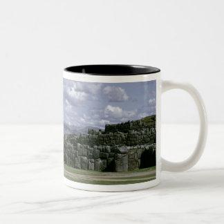 Sacsahuman Inca fortress Two-Tone Coffee Mug