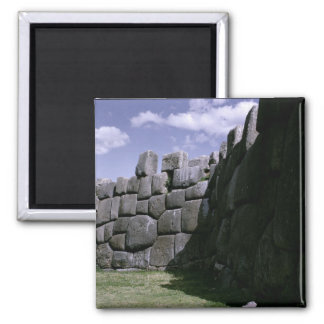 Sacsahuman Incan Fortress 2 Inch Square Magnet