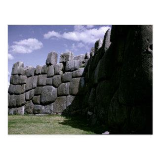 Sacsahuman Incan Fortress Postcard