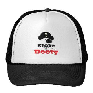 Sacuda ese botín gorras
