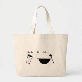 Sacuda y cueza bolsas