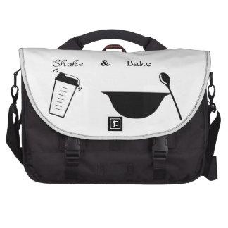 Sacuda y cueza bolsas para ordenador