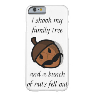 Sacudí mi caja del iPhone 6 del árbol de familia Funda De iPhone 6 Barely There