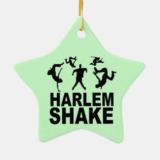Sacudida de Harlem Adorno De Cerámica En Forma De Estrella