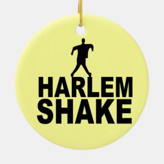 Sacudida de Harlem Adorno Redondo De Cerámica