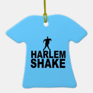 Sacudida de Harlem Adorno De Cerámica En Forma De Camiseta