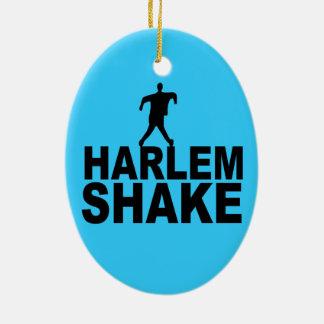 Sacudida de Harlem Adorno Ovalado De Cerámica