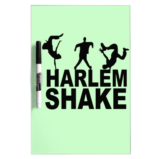 Sacudida de Harlem Pizarra