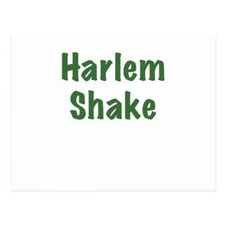 Sacudida de Harlem Postales