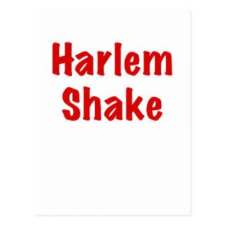 Sacudida de Harlem Tarjeta Postal