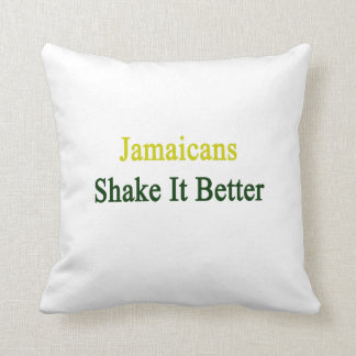 Sacudida de Jamaicans él mejor Almohadas
