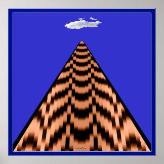 Sacudida de la pirámide Tijun Tijun Póster