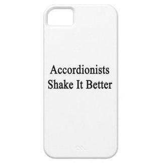 Sacudida de los acordeonistas él mejor iPhone 5 protectores
