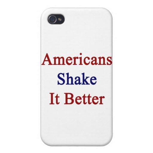 Sacudida de los americanos él mejor iPhone 4/4S funda