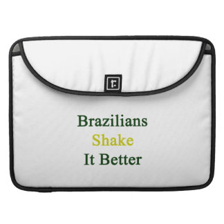 Sacudida de los brasilen os él mejor funda para macbooks