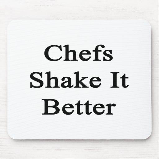 Sacudida de los cocineros él mejor tapetes de ratones