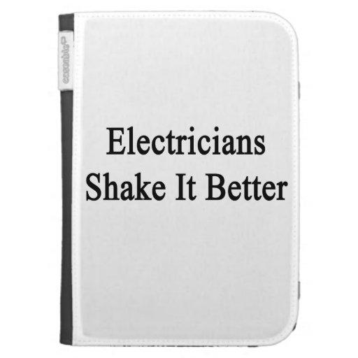 Sacudida de los electricistas él mejor