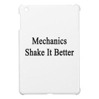 Sacudida de los mecánicos él mejor