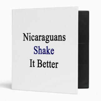 Sacudida de los Nicaraguans él mejor