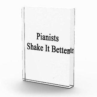 Sacudida de los pianistas él mejor