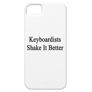 Sacudida de los teclistas él mejor iPhone 5 Case-Mate cobertura