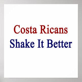 Sacudida de Ricans de la costa él mejor Poster