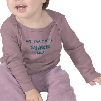 sacudida del bebé de la sacudida camisetas