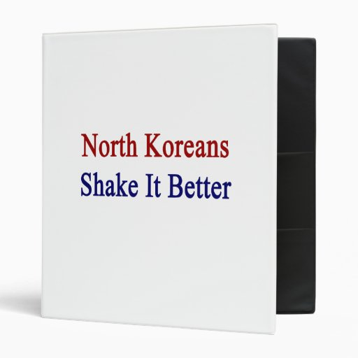 Sacudida del norte de los coreanos él mejor