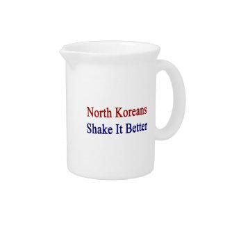 Sacudida del norte de los coreanos él mejor jarra para bebida