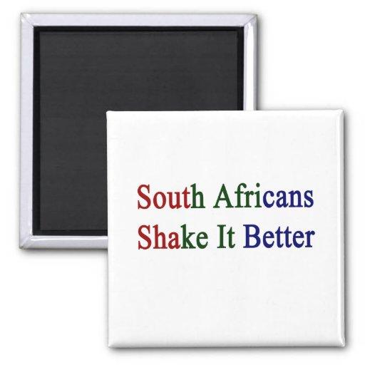 Sacudida del sur de los africanos él mejor imanes