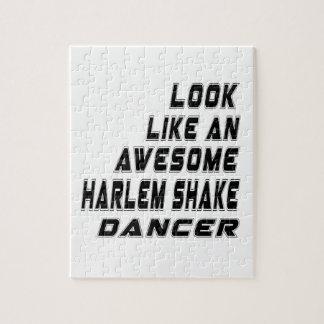 sacudida impresionante de Harlem.  danza Rompecabeza
