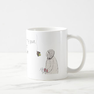 Sad Acorn Man Mug