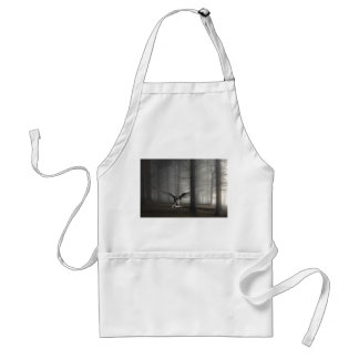 Sad Angel in the Woods Adult Apron