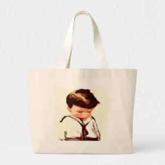 Sad Canvas Bags