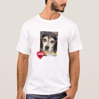 Sad Beagle-Adopt Dont Shop T-Shirt