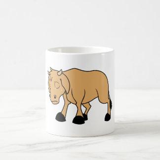 Sad Brown Calf World Vegetarian Day Animal Rights Coffee Mug