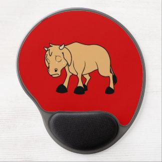 Sad Brown Calf World Vegetarian Day Animal Rights Gel Mouse Pad