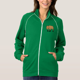 Sad Brown Calf World Vegetarian Day Animal Rights Jacket